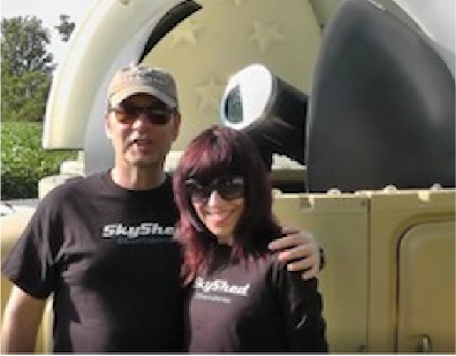owners of SkyShed POD Dome Observatory